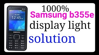 Samsung B355e B110 B310 B313 No Service Network Solution