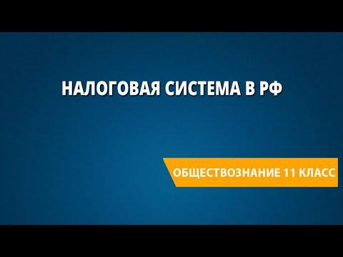 Налоговая система в РФ