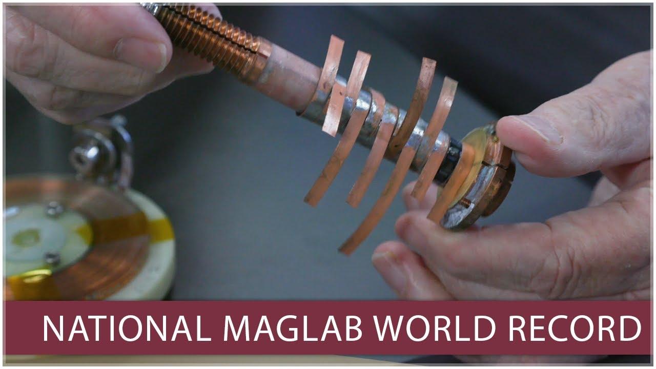 Ученые создали самый мощный сверхпроводящий магнит постоянного тока