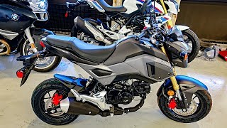 2017 Honda Grom Base Motorcycle Specs, Reviews, Prices ...