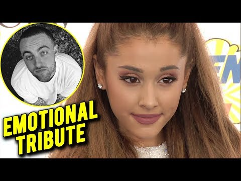 Ariana Grande EMOTIONAL TRIBUTE To Ex Mac Miller | Hollywood Now