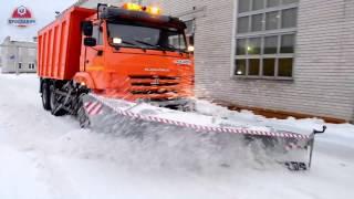 Скоростной снегоуборочный отвал ПКО-2,6 «Циклон»