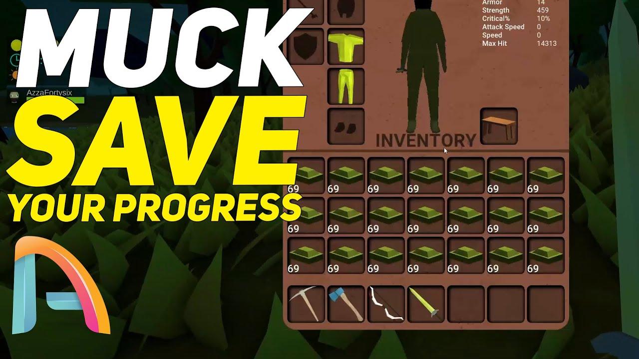 Muck - Character Saver