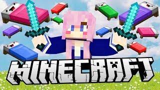LDShadowLady vs. YouTubers | Minecraft Bed Wars