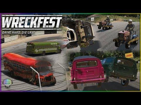 Black Sails Valley Chaos! | Wreckfest