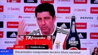 Resposta Épica De Rui Vitoria A Jorge Jesus  No 35º Campeonato