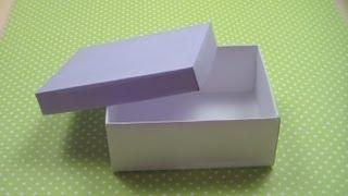 Смотреть онлайн Хенд мейд: коробка любого размера с крышкой