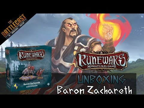 Baron Zachareth Unboxing and Review