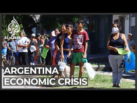 In Argentina, coronavirus brings more economic pain