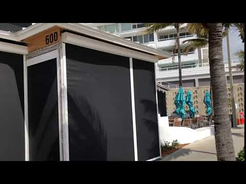Titan Outdoor Blinds Demo