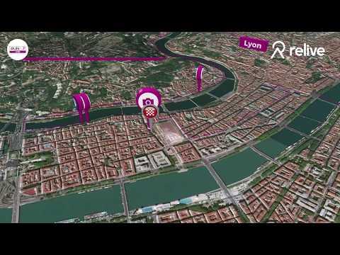 Parcours 10KM - RUn In Lyon 2018