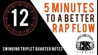 Swinging Triplet Quarter Notes: 5 Minutes To A Better Rap Flow   ColeMizeStudios.com