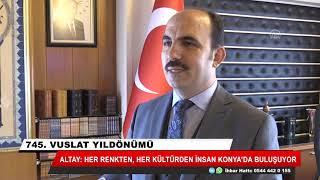 Şebi Arus her kültürden insanı Konya'da buluşturuyor