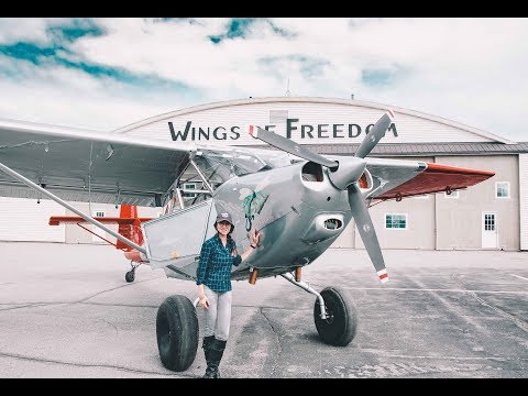 sonikhanem] Flying the L-13 Dragonfly - WWII Warbird in Alaska - ON