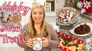 HOLIDAY SWEET TREATS | COOK WITH ME | VLOGMAS | JESSICA O'DONOHUE