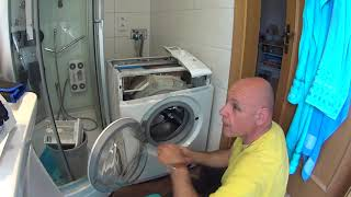 Privileg Waschmaschine Laugenpumpe wechseln.
