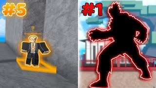 Every Fighting Style Ranked From Worst to Best | King Legacy