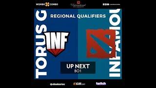 Torus Gaming vs Infamous Gaming | The International 8 SA Qualifier