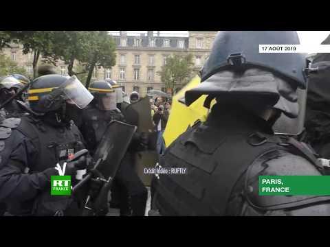 Des heurts éclatent à Paris lors de «l'acte XL» des Gilets jaunes