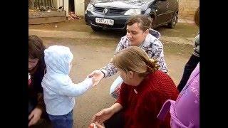 Пасха в семье Янцен. Село Кубанка Переволоцкого района.