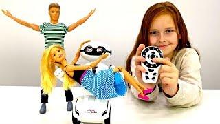 Новогодние подарки для Барби и Кена. Мультики для детей