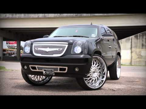 "Amani Forged Wheels | GMC Yukon Denali on 32"" Amani Forged Stance"