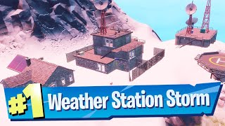 Visit the Weather Station as Storm Location - Fortnite (Awakening Challenge)