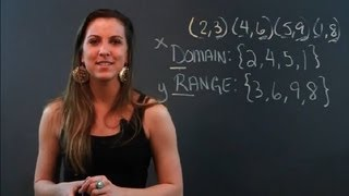 How to Figure the Domain & Range of Ordered Pairs : Math Tips