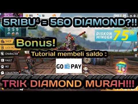 5RIBU DAPAT RATUSAN BAHKAN TOTAL 560 DIAMOND?!! || TRIK DIAMOND MURAH!!! || FREE FIRE BATTLEGROUND
