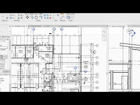 Revit 2019: Tabbed Views