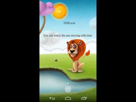 Video of Leon the Lion - Live wallpaper