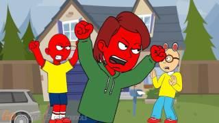 Boris The Teeth Guy and Caillou The Teeth Boy Cancel Arthur's Show