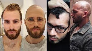 BALDING MEN EMBRACE GOING BALD - BaldCafe Head Shave *INSPIRATION!*