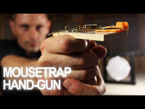 Make a Mousetrap Gun That Shoots!