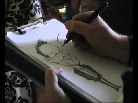 Bill The Caricaturist Video