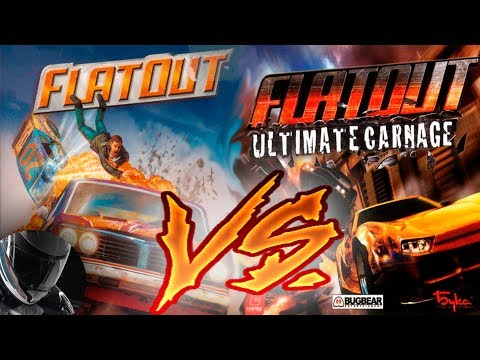 FlatOut VS Flatout Ultimate Carnage - Кто побеждает?
