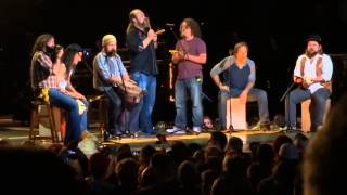 2013-10-11, Zac Brown Band, Bristow (VA), Frozen Man (James Taylor cover)