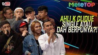 Ahli K Clique single atau dah berpunya?! | MeleTOP | Nabil & Jihan Muse