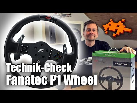 Test Fanatec CSL P1 Wheel [Lenkrad, Forza 7,  Xbox One]