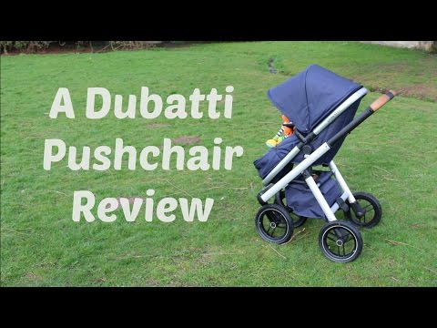 A Dubatti Dubatti One All Terrain Pushchair #Review