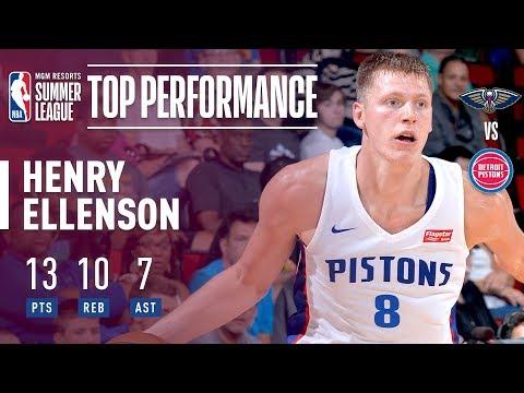 Henry Ellenson Fills Up the Stat Sheet vs Pelicans | 2018 MGM Resorts Summer League