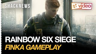 Rainbow Six Siege - Finka Gameplay