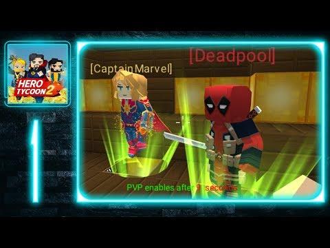 Blockman Go - Hero Tycoon 2 - Gameplay Walkthrough Part 1 - Deadpool