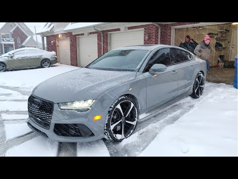 Already Taking My New RS7 Wheels Off + First Ever Harbor Freight Trip!