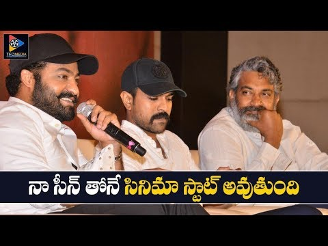 Jr.NTR Reveals About RRR Movie Introduction Scene | NTR | Ram Charan | Alia Bhatt | TFC Filmnagar