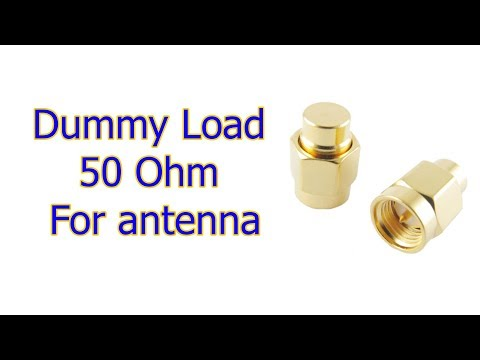 Dummy Load 50 Ohm for FPV antenna
