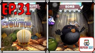 ANGRY BIRDS EVOLUTION - BLACK EXCAVATION&BRAWL - HATCHING 40 PREMIUM EGGS - BOMB and BILLY THE BLITZ