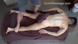 Ashiatsu Massage - Deep Tissue With Male Model