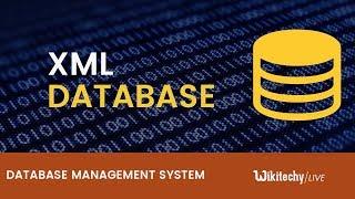 Xml Database | Xml Schema | Xquery