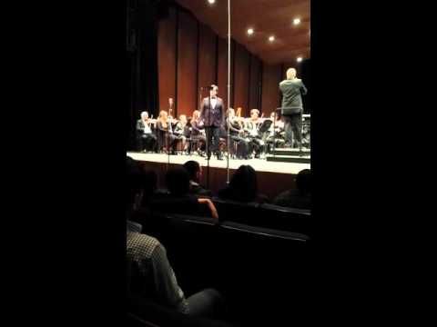 My performance with the ARC Orchestra, Spring 2016.